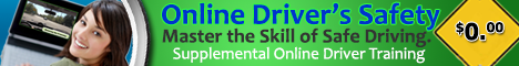 Online Driver Safety Course $0.00 Supplemental Driver Training